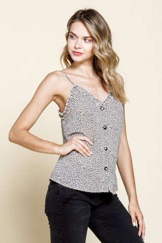 On My Terms Leopard Cami