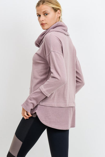 Feels Great Pullover - Mauve