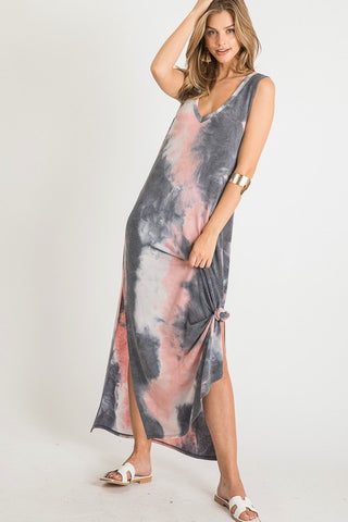 All Summer Long Tie Dye Maxi