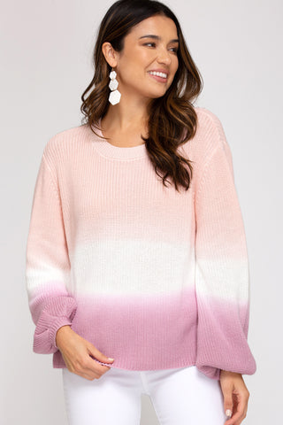 Hadley Sweater - Rose