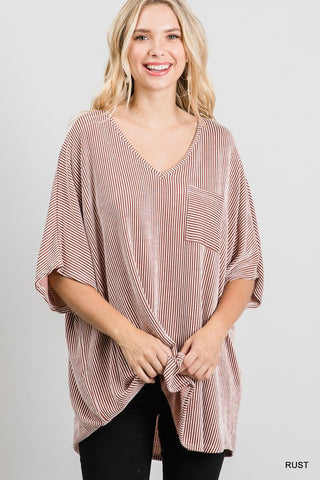 Summer of Love Top - Mauve