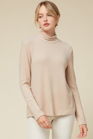 Secret Blessing Top - Taupe
