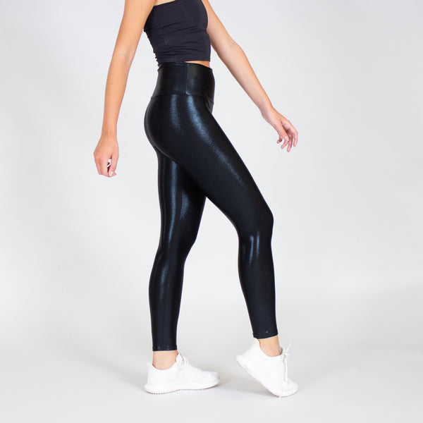 Black Liquid Legging