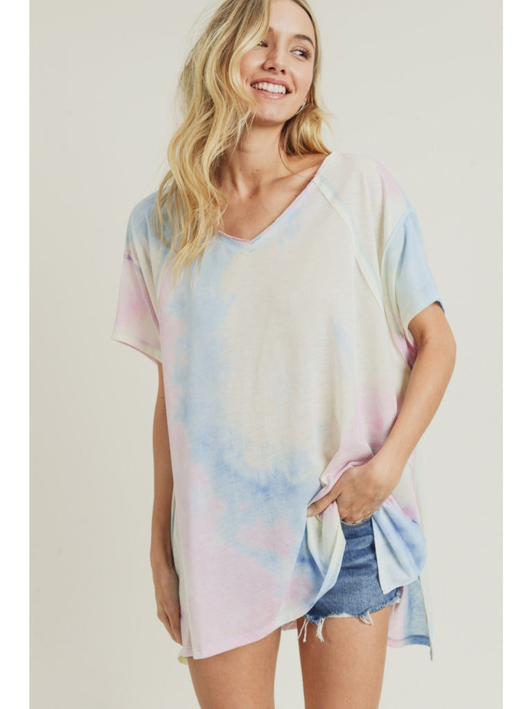 Remember The Days Top - Tie Dye