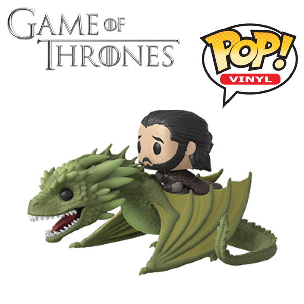 POP! Rides: Television: Game of Thrones (S11) - Jon with Rhaegal [Season 8]