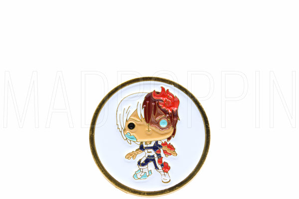 Funko Pins: Animation: My Hero Academia - Todoroki