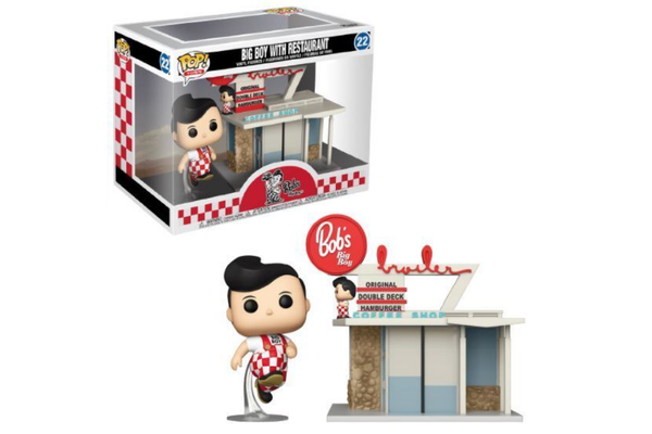 POP! Town: Ad Icons - Bob's Big Boy Restaurant w/Big Boy