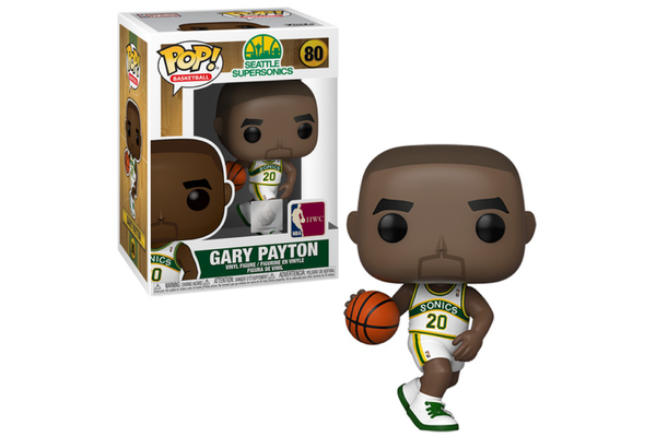 POP! NBA Legends: Seattle SuperSonics - Gary Payton (Home Jersey)