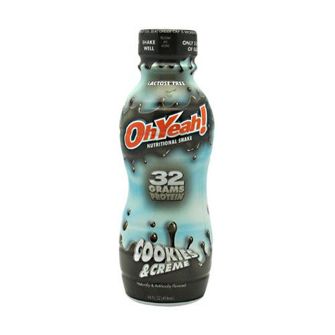 ISS Research OhYeah! Protein Shake RTD Cookies & Creme - Gluten Free