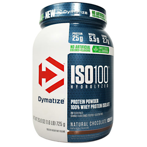 Dymatize Natural ISO-100 Natural Chocolate - Gluten Free