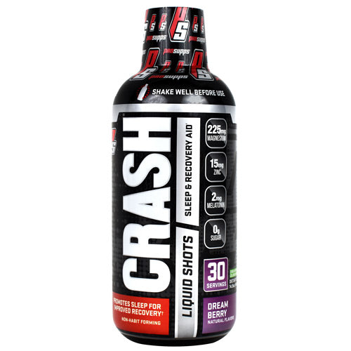 Pro Supps Crash Liquid Shots Dream Berry - Gluten Free