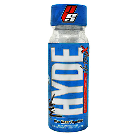 Pro Supps Mr. Hyde Nitro X RTG Blue Razz Popsicle - Gluten Free