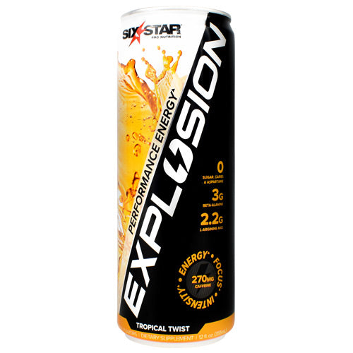 Six Star Muscle Explosion RTD Tropical Twist