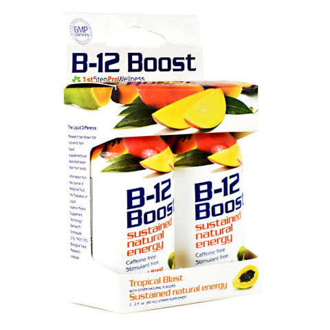 High Performance Fitness B-12 Boost Cherry Charge