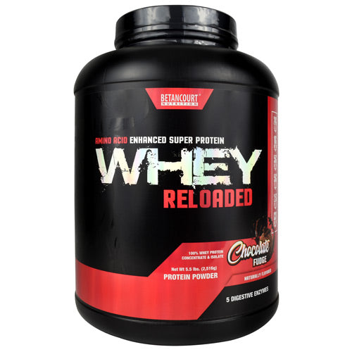 Betancourt Nutrition Whey Reloaded Chocolate Fudge