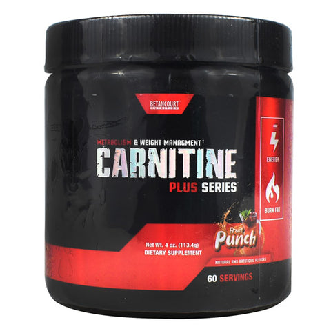 Betancourt Nutrition Plus Series Carnitine Fruit Punch