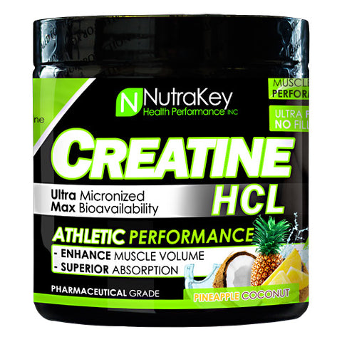 Nutrakey Creatine HCL Pineapple Coconut