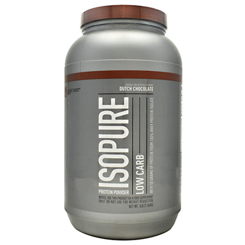 Nature's Best Low Carb Isopure Dutch Chocolate