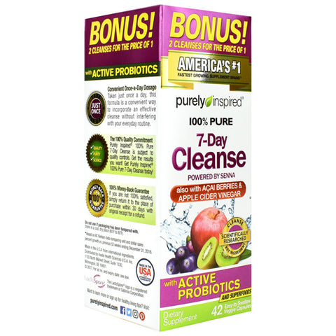Muscletech Purely Inspired 100% Pure 7 Day Cleanse