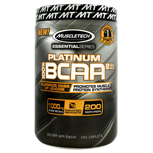 Muscletech Essential Series Platinum 100%  BCAA 8:1:1