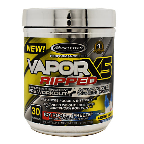 Muscletech Performance Series VaporX5 Ripped Strawberry Limeade