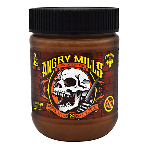 Sinister Labs Non-Caffeinated Angry Mills Peanut Spread Chocolate Craze - Gluten Free