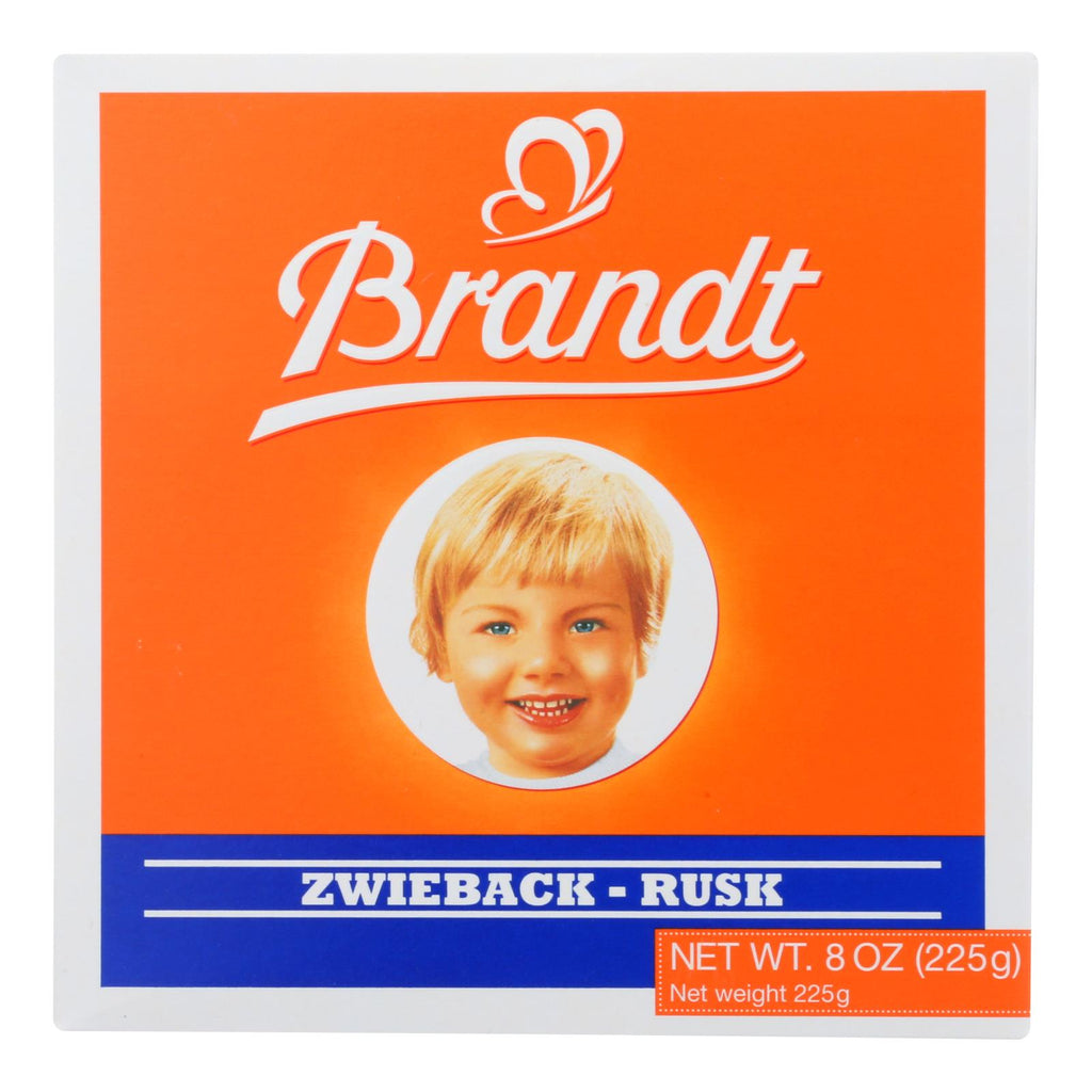 Brandt Zwieback - Case Of 10 - 8 Oz