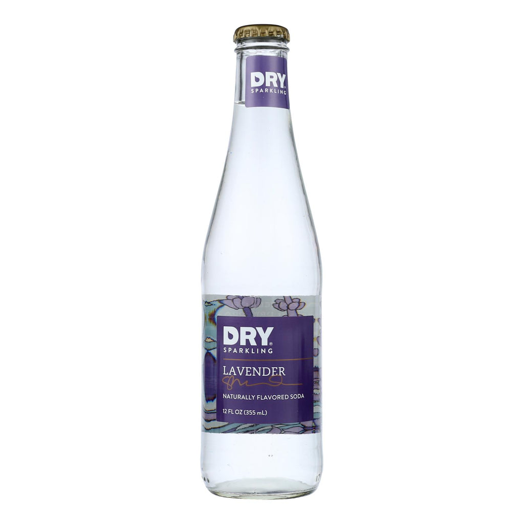 Dry Soda - Dry Soda Lavender - Case Of 6-4-12 Oz