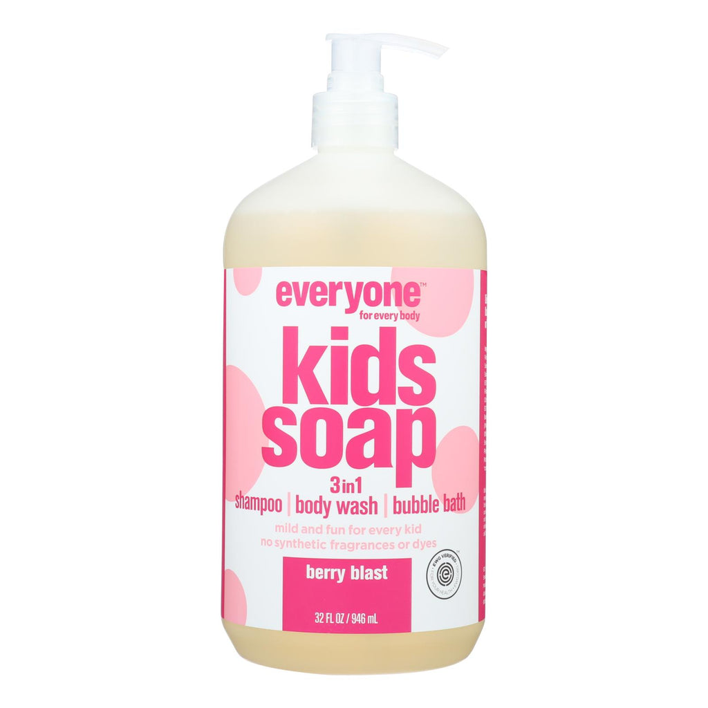 Everyone - Soap 3 In 1 Kds Berry Blast - 32 Fz