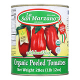 La San Marzano - Tomatoes Peeled - Case Of 12-28 Oz