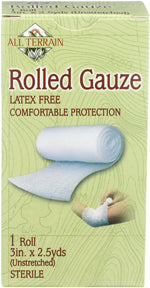 "3"""" Rolled Gauze 1 CT"