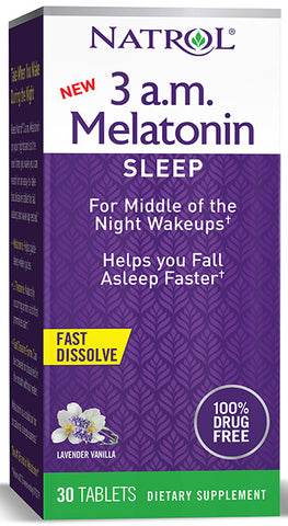3am Melatonin 30 TAB