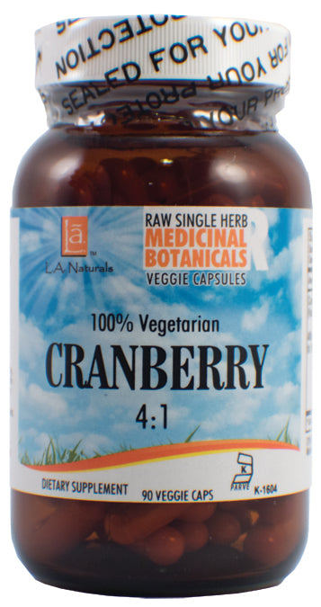 Cranberry Raw Herb 90 VGC