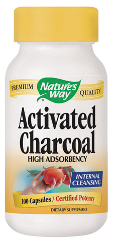 Activated Charcoal Yellow Bottle 100 CAP