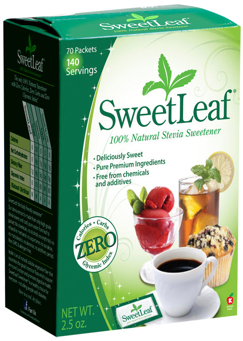 Stevia Packets with Fiber 70 PKTS