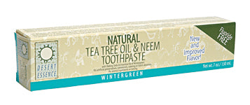 Neem Tea Tree Wintrgrn Toothpaste 6.25 OZ