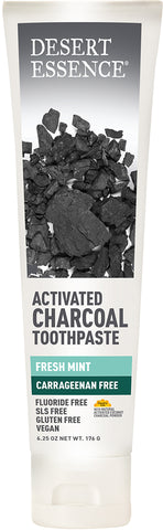 Activated Charcoal Toothpaste 6.25 OZ