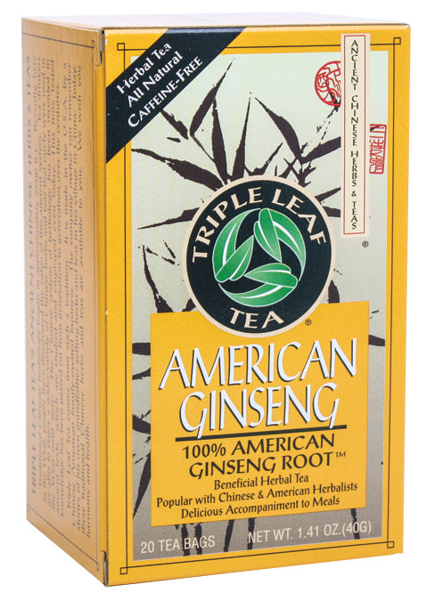 American Ginseng Tea (100%% Wisc. root) 20 BAG