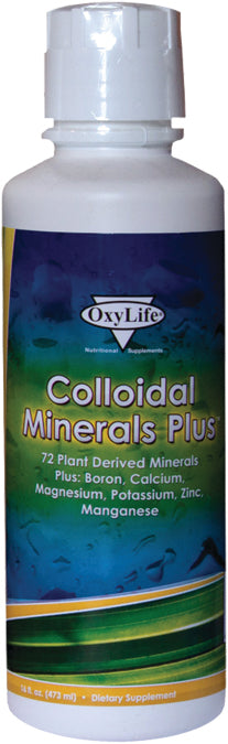 Colloidal Minerals Plus 16 OZ