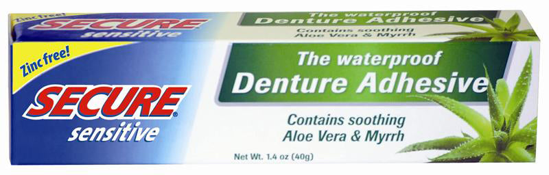 Secure Dental Adhesive Sensitive 1.4 OZ