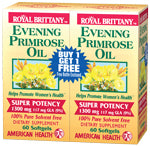 Evening Primrose Oil 1300mg Bogo 2-60 SFG