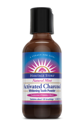 Activated Charcoal Whiten Tooth Powd 1.3 OZ