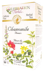 Chamomile Flowers Tea Organic 24 BAG