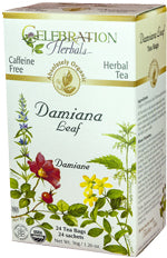 Damiana Leaf Tea Organic 24 BAG