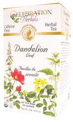 Dandelion Leaf Tea Organic 24 BAG