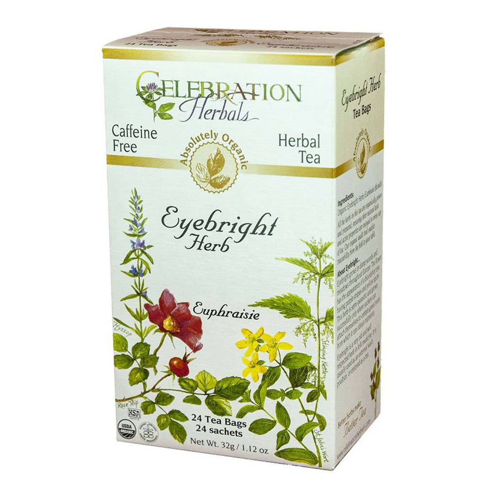 Eyebright Herb Tea Organic 24 BAG