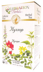 Hyssop Herb Tea Organic 24 BAG