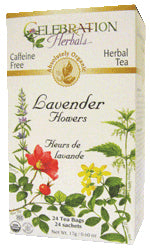 Lavender Flowers Tea Organic 24 BAG