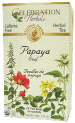 Papaya Leaf Organic 24 BAG
