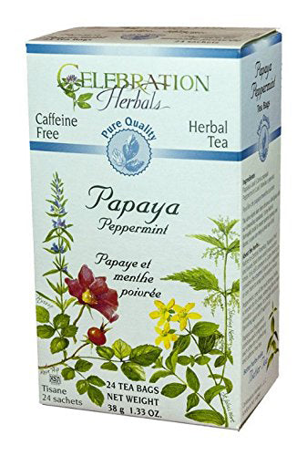 Papaya Peppermint Tea Organic 24 BAG